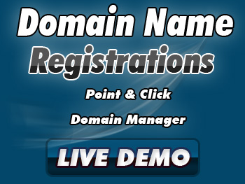 Moderately priced domain registrations & transfers